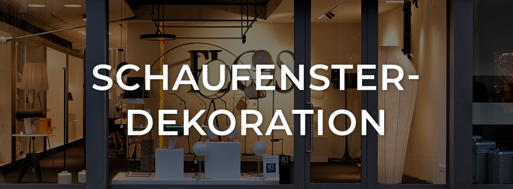 Schaufensterdekoration in Köln - DCT | Eventgestaltung-Dekoration